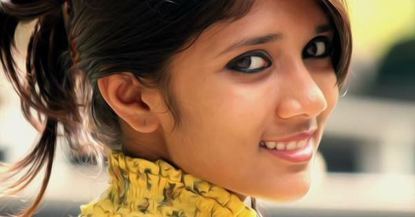 Indian Cute Girl Wallpaper Wow A Cute And Super Beautiful Indian Girl Her Hair Up