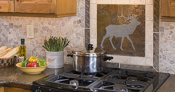 Portable Kitchen Island Plans Adore Those Cabinets. Tile Backsplash Of Elk, I Would