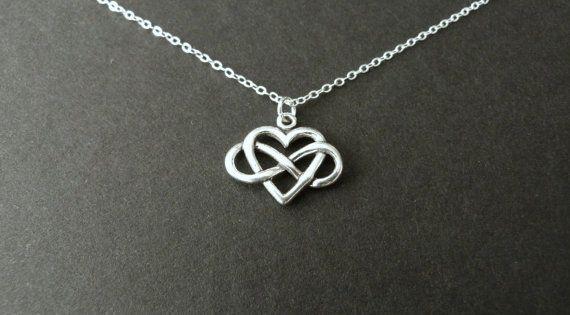 3d Cross Pendant Wallpaper Girlfriend Gift Infinity Heart Necklace Best Seller