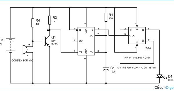 burglar alarm burglar alarm using ic 555