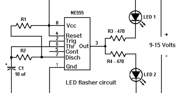 2 led circuit diagram raspberry pi