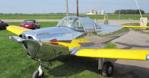 Trade A Plane Airplanes For Sale 1949 Ercoupe 415-g Aircraft For Sale - William Winstanley