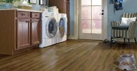 8 Flooring Trends to Try | Luxury vinyl, Laundry rooms and ...
