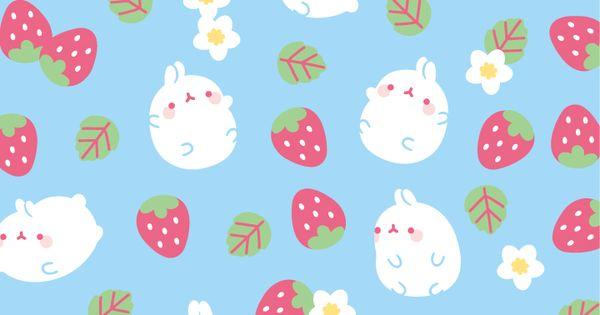 Cute Autumn Wallpaper Kawaii Pattern Molang Kawaii Pinterest
