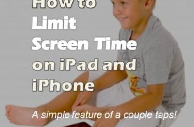 How to Set Screen Time Limit on iPad and iPhone | Time on, iPad and Screens