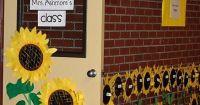 sunflower classroom door | For Kids | Pinterest ...