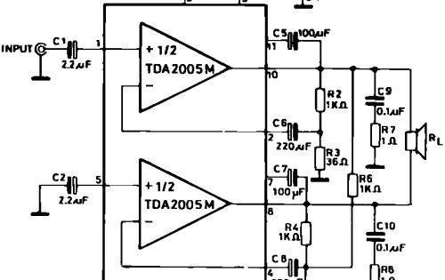 integrated circuit diagram amplifiercircuit circuit diagram