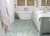 Exotic Beauty: Beachy hues in this pebble flooring from ...