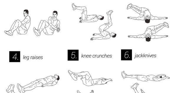 circuit training exercises with no equipment