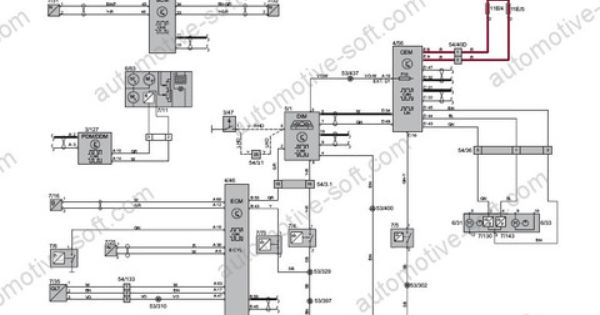volvo car electronic wiring diagram 265mb