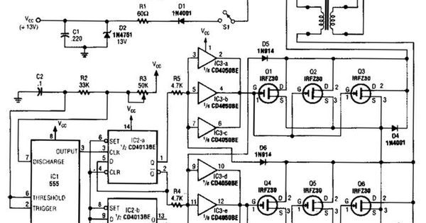 bridge motor controller circuit diagram electronic circuits