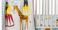 Room 365 Circus 3pc Crib Bedding Set IVE ALWAYS WANTED A