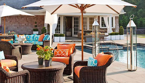 Outdoor Furniture And Fabric Ideas Turquoise Furniture