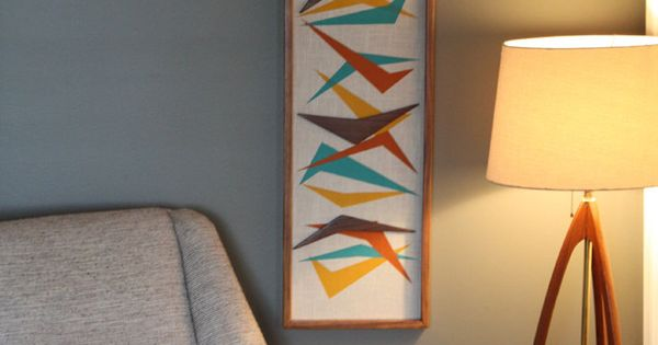 Eames Chair Knock Off Mid Century Modern Witco Abstract Wall Art Sculpture