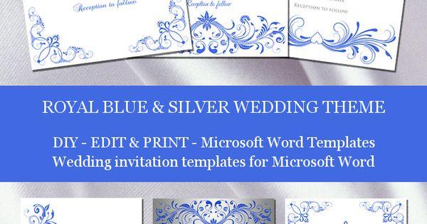 free wedding programs templates microsoft word
