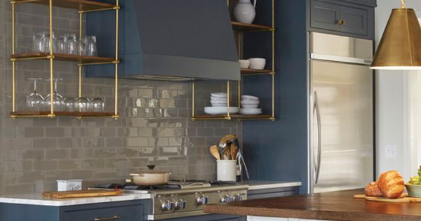Teal Blue Kitchen Cabinets Kickass Alternatives To Traditional Upper Kitchen Cabinets