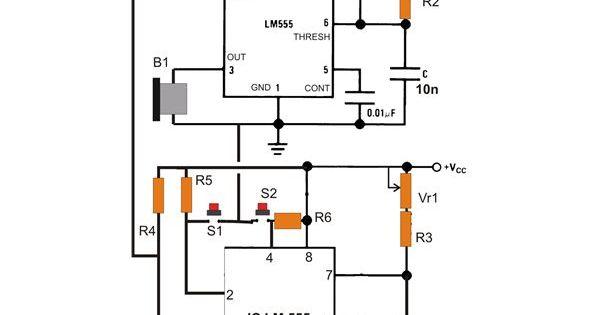 infrared detector circuit diagram using bc557