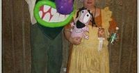 Courage the Cowardly Dog costume | Yeti and Ariats board ...