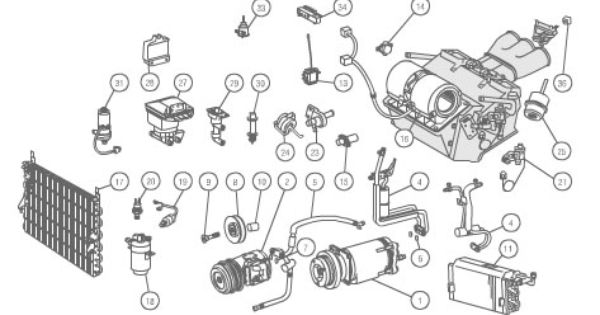 mercedes e320 parts diagram