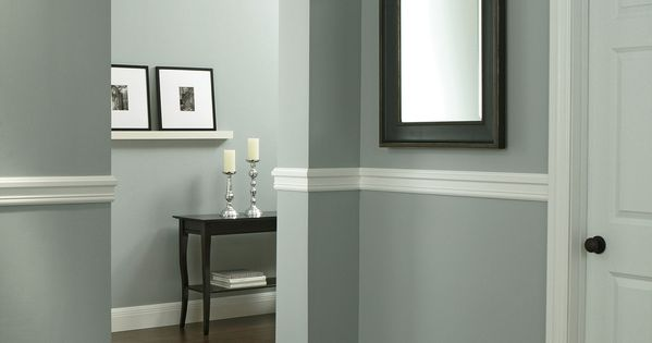 Protect walls from scuffs and dents by installing chair
