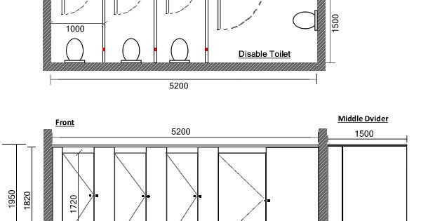 Toilet cubicle dimensions australian bathroom standards