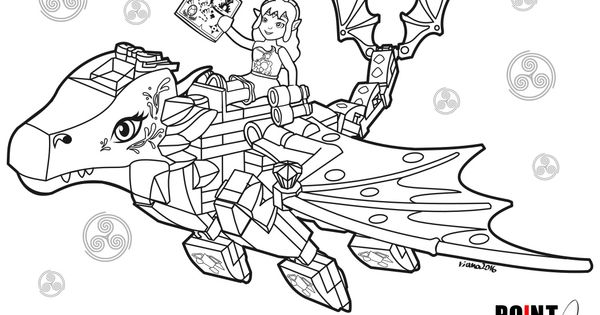 Lego Elves Coloring Pages Arenda Stroy