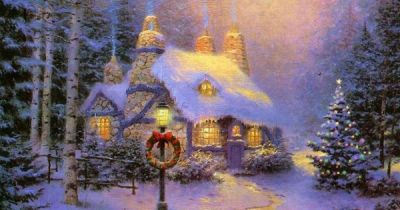 free christmas wallpaper without downloading | Night Before Christmas « Free wallpapers 1024x768 ...