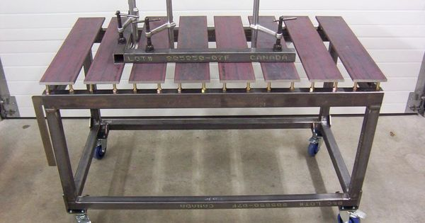 Kitchen Island Utility Table Metal Welding Table | Metal - Fab | Pinterest | Metal