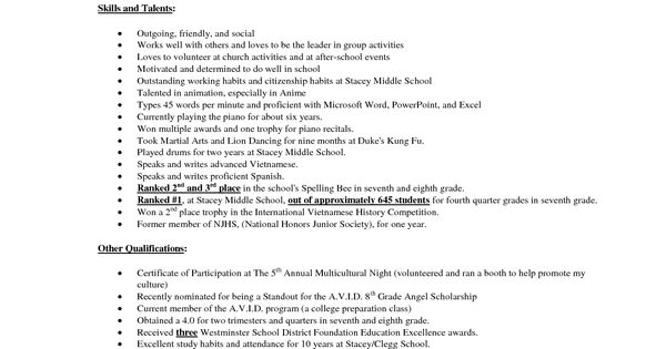 school counseling resume example