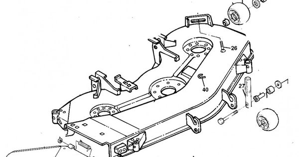 pin john deere mower deck belt diagram on pinterest