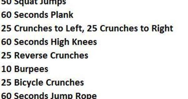 intense circuit workout