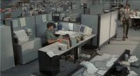 office cubicles at night - Google Search | Jack ...