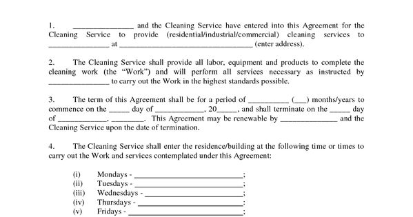 Bookkeeping Service Agreement Contract – Contract Service Agreement