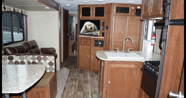 Home Depot Kitchen Wall Cabinets This 2016 Passport 3350bh Grand Touring Travel Trailer By
