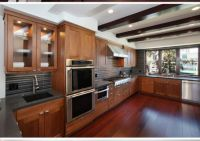 Cognac bamboo flooring is an eco-friendly alternative to ...
