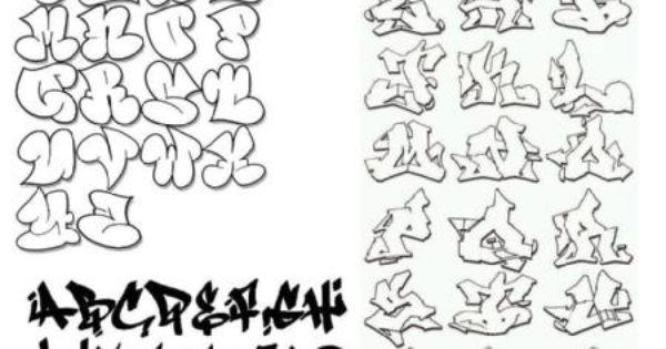 abecedario de graffitis tags como hacer un tag graffiti