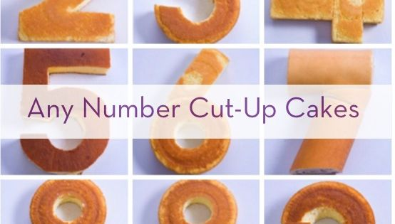 Single Kuchen How To Create Any Number With Store-bought Cakes | Zahlen