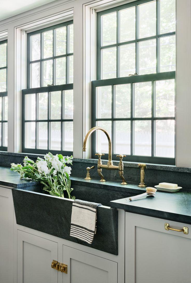 soapstone countertops soapstone kitchen countertops Vert De Terre No Paint Soapstone Kitchen SinkWaterworks