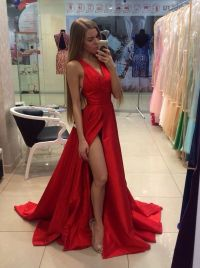 17 Best ideas about Red Prom Dresses on Pinterest | Prom ...
