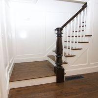 Timeless White Oak stair treads and White Oak #2 common ...