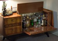 Stocked vintage drinks cabinet | Want | Pinterest | Drinks ...