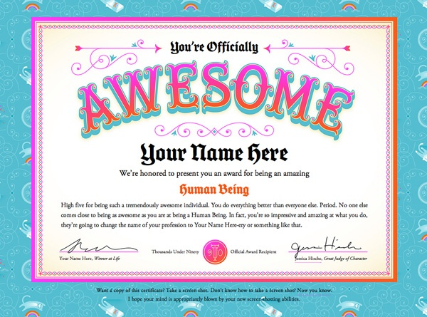 make your own gift certificate free printable