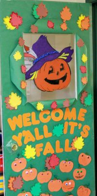 25+ Best Ideas about Fall Classroom Door on Pinterest ...
