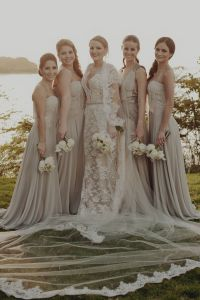 17 Best ideas about Taupe Bridesmaid on Pinterest | Cream ...