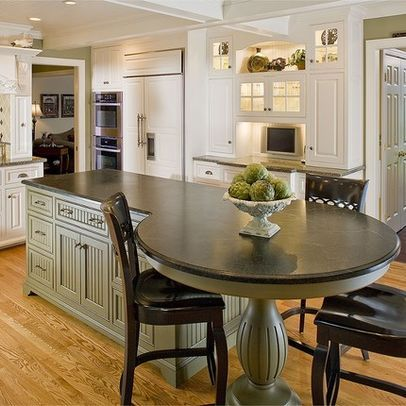 25+ best ideas about Kitchen Island Table on Pinterest
