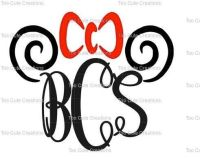 Monogram shirts, Vinyl shirts and Minnie mouse on Pinterest