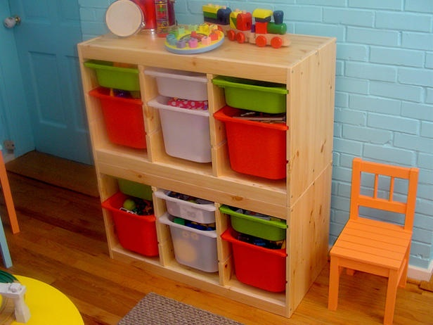 Trofast Frame And Storage Boxes Ikea Salle De Jeux