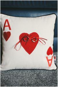 Yes! Best Alice in wonderland wedding ring bearer pillow ...