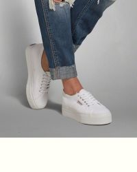 25+ Best Ideas about White Platform Sneakers on Pinterest ...