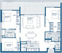 3 bedroom floorplans | Harbour Lights Cairns Apartment ...
